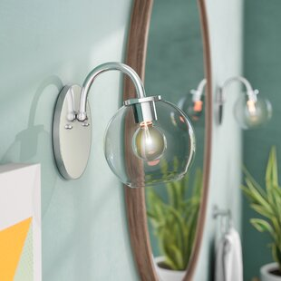 Carnkirn 1-Light Bath Sconce b..