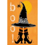 Boo Boots 2-Sided Polyester 12 x 18 in. Garden Flag