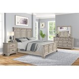 Burrel Solid Wood Standard Configurable Bedroom Set by Charlton Home