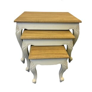 Cabriole 3 Piece Nest Of Tables By August Grove