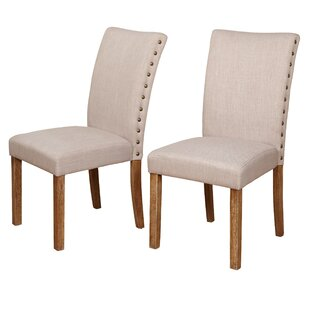 Whitmore Upholstered Dining Chair (Set of 2) Ophelia & Co.
