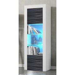 Milano Wavy Fronts Matte Body Standard Bookcase By Orren Ellis