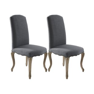 Aceline Upholstered Dining Chair (Set Of 2) By Lily Manor