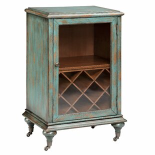 Gemma 8 Bottle Floor Wine Cabinet by Stein World