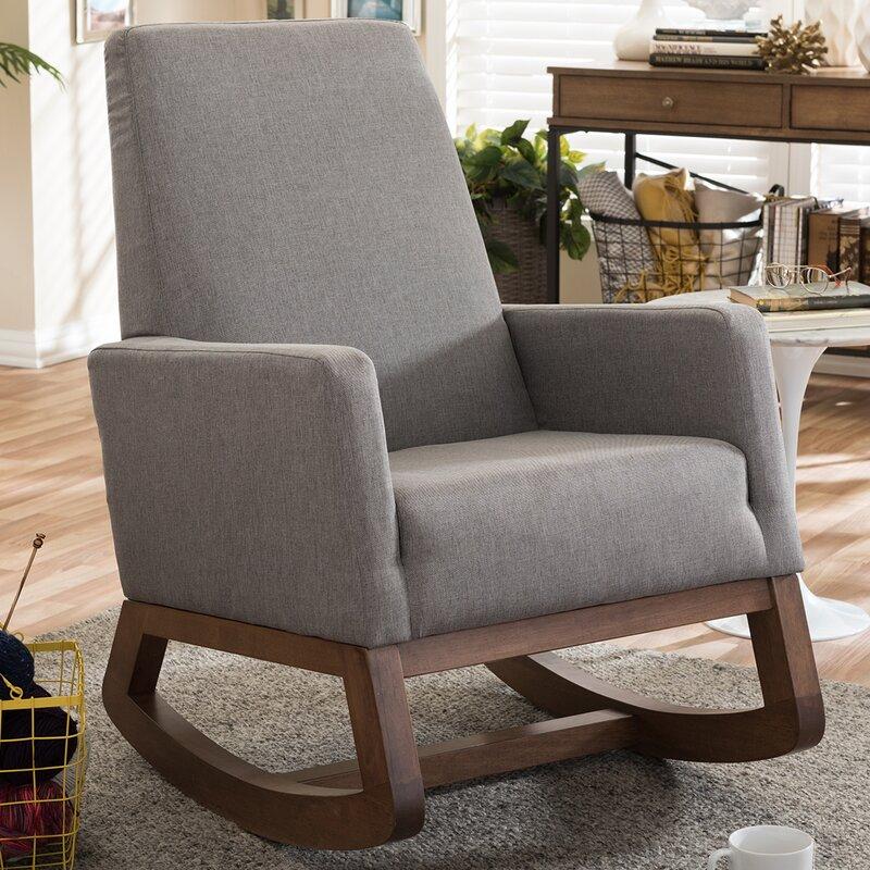 Wholesale Interiors Baxton Studio Rocking Chair & Reviews | Wayfair