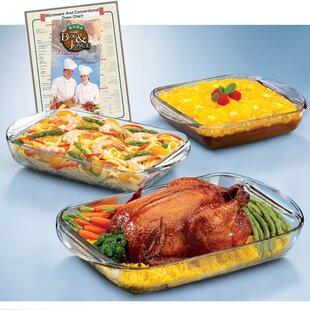 Expressions Rectangular 4 Piece Baking Dish Set