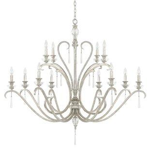 House of Hampton McCarey 12-Light Chandelier
