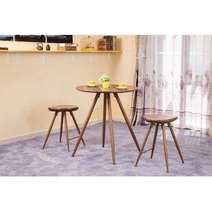 ACME Furniture Ainslee 3 Piece Pub Table Set