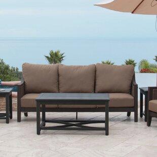 Biscarta Sofa with Cushion by Royal Garden