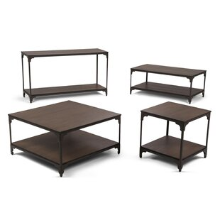 Williston Forge Summerdale 4 Piece Coffee Table Set