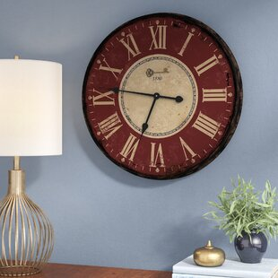 Cadsden Decor 24 5 Wall Clock