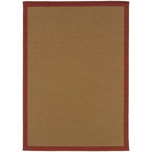 Find a Goldenrod Brown Area Rug By Bay Isle Home