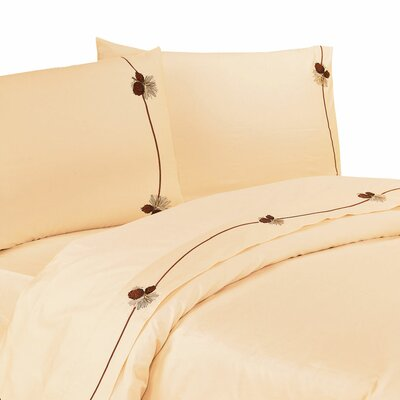 Loon Peak Carlisle 350 Thread Count Sheet Set