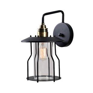 Apeksha 1-Light Outdoor Wall Lantern By Gracie Oaks Outdoor Lighting