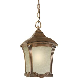 Forte Lighting Outdoor 1 Light Cast Aluminum Post Lantern