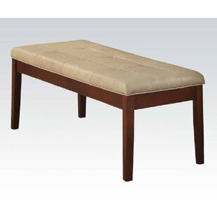 Tico Faux Leather Bench by Red Barrel Studio