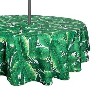 Cedartown Banana Leaf Outdoor Umbrella Tablecloth