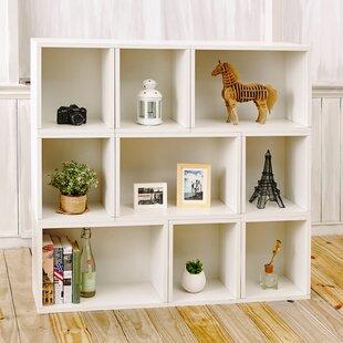 Beckmann Oxford Modular Organizer Cube Unit Bookcase Brayden Studio