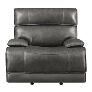 Nichol Leather Power Wall Hugger Recliner