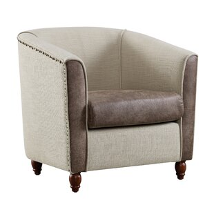 Whalers Barrel Chair by Charlton Home