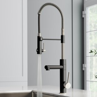 Artec Pro 2-Function Pull Down Single Handle Kitchen Faucet