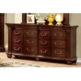 Dorcas Luxe Astonishing 12 Drawer Double Dresser by Astoria Grand