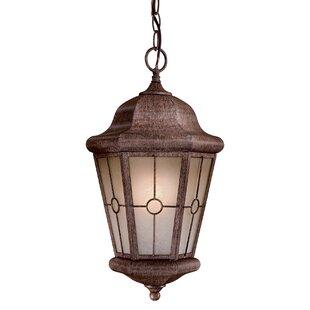 Great Outdoors by Minka Montellero 1-Light Outdoor Hanging Lantern