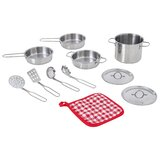 Little Chef Frankfurt Cooking Accessory Pot and Pan Set