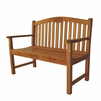 Wood Bench With Metal Legs Wayfair