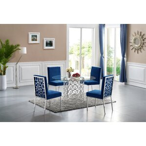 Hop 5 Piece Dining Set by Everly Quinn
