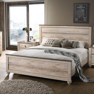 Gracie Oaks Manzano Panel Bed