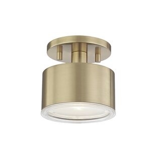 Everly Quinn Yussuf Semi Flush Mount