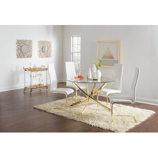 Tingley 5 Piece Dining Set Mercer41
