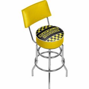 Trademark Global Waffle House Swivel Bar ..