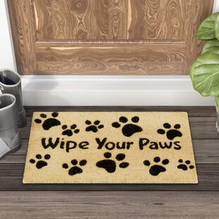 Multicolor Carolines Treasures Airedale Wipe Your Paws Indoor or Outdoor Mat 18 x 27