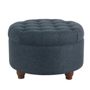 Rasmussen Tufted Storage Ottoman by Canora Grey