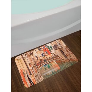 Classic Multi Colored Paisley Bath Rug By East Urban Home