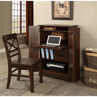 Check Prices Anteus Armoire Desk By Gracie Oaks