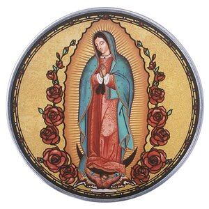 Our Lady of Guadalupe Art Glass Wall Décor