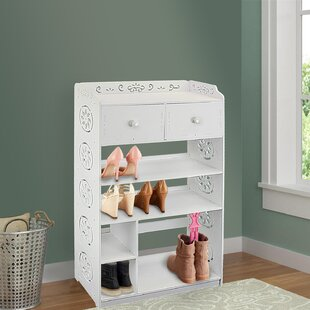 Price Check 6 Tier Multipurpose Shoe Storage Cabinet By Rebrilliant