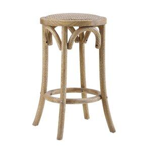 Charmayne Rattan Seat Backless 24  Stool  sc 1 st  Wayfair & Wicker u0026 Rattan Bar Stools Youu0027ll Love | Wayfair islam-shia.org