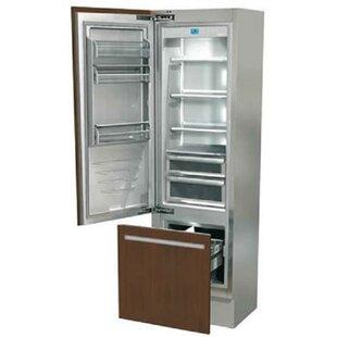 Overlay 10.1 cu. ft. Counter Depth Bottom Freezer Refrigerator by Fhiaba