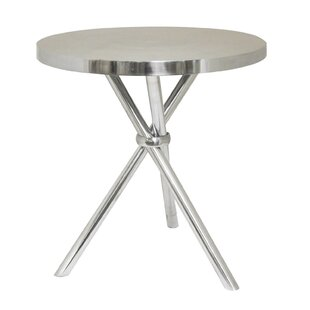 Rambo Aluminum End Table by Orren Ellis