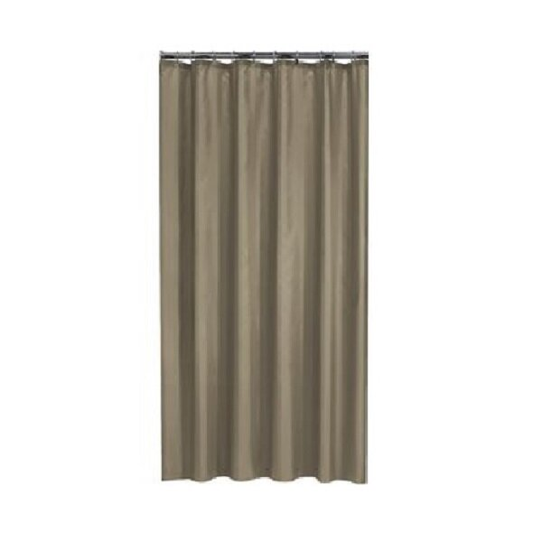Brown Weighted Bottom Shower Curtains Shower Liners You Ll Love In 2021 Wayfair