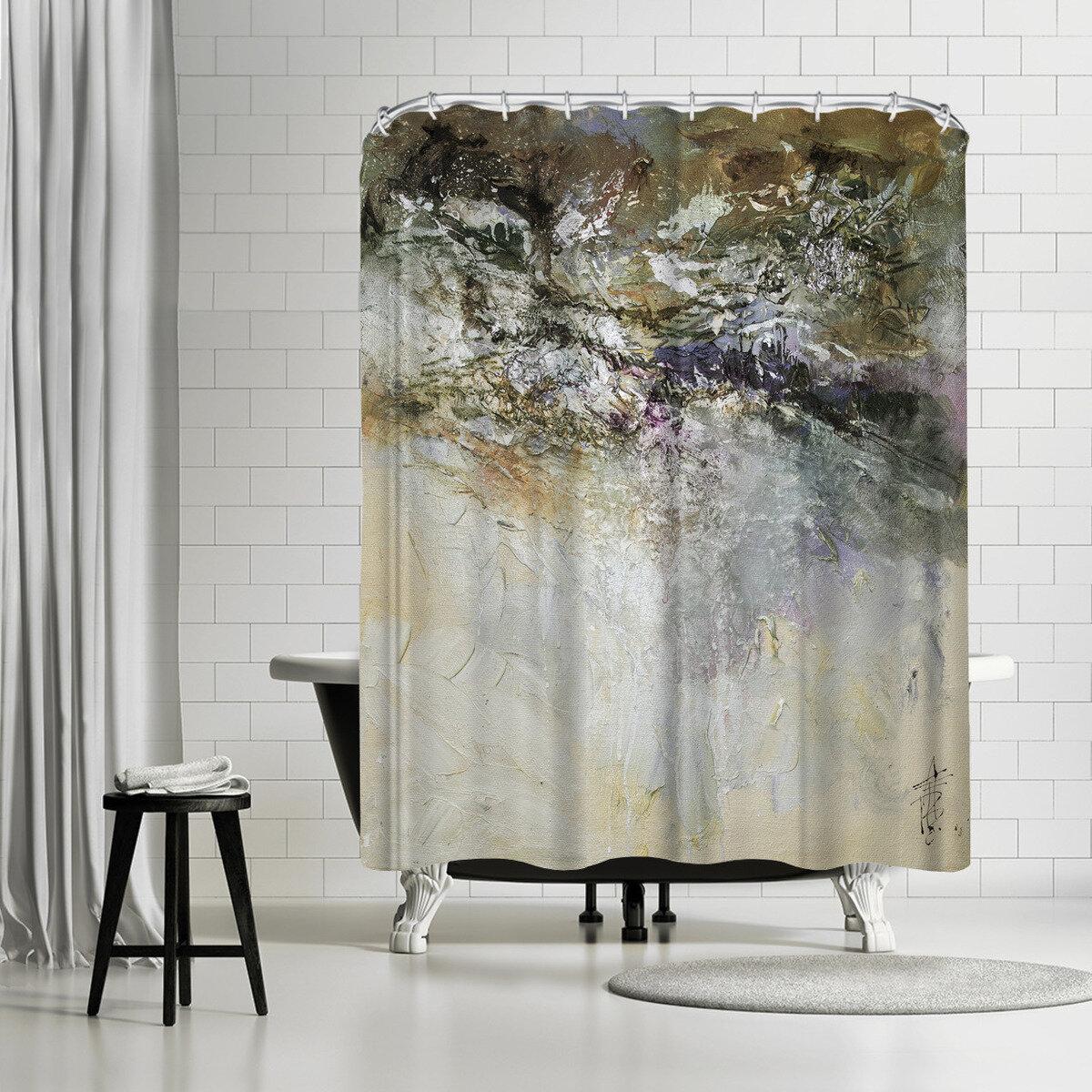 East Urban Home Anne Farrall Doyle Single Shower Curtain Wayfair