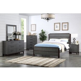 Hidalgo Queen Panel 5 Piece Bedroom Set