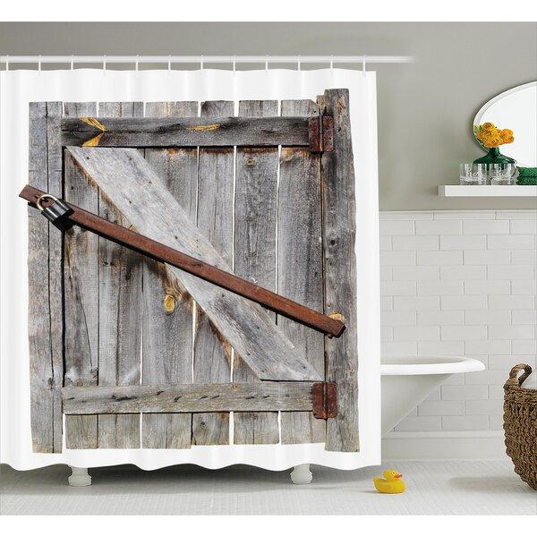 Barn Door Shower Curtain Wayfair