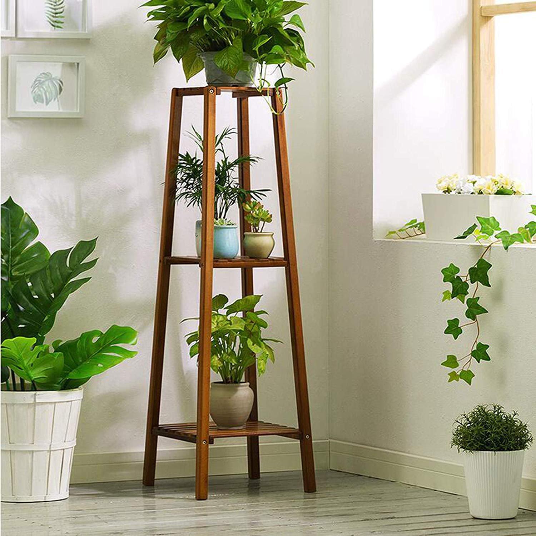 Gracie Oaks Taranto Multi Tiered Plant Stand Reviews Wayfair