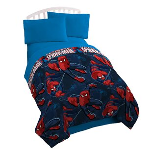 Spider-Man Spider Leap Twin Sheet Set