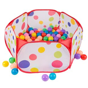 Hey! Play! Pop-up Ball Pit Play Tent